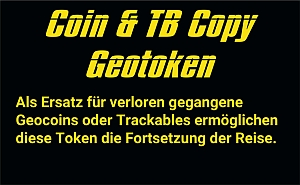 Coin & Trackable Copy GeoToken