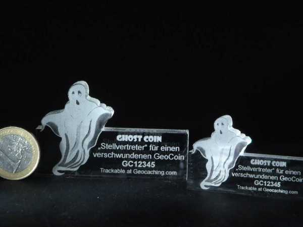 "Lost Geocoin ""The Ghost Coin #1"""