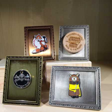 """The Photo-Frame Geocoin"" - Just frame your memories - mit GeoToken"