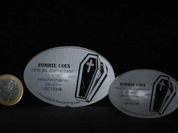 "Lost Geocoin ""The Zombie Coin #2"""