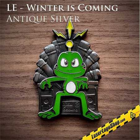 """Game of Founds"" Geocoin - Edition LE ""Winter is coming"""