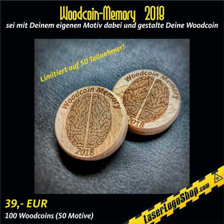 "Das ""Grosse Woodcoin Memory 2018"""