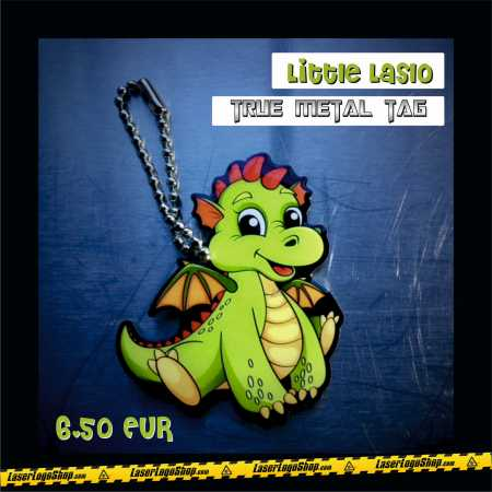 "True Metal Tag ""Little Laslo the Dragon"""