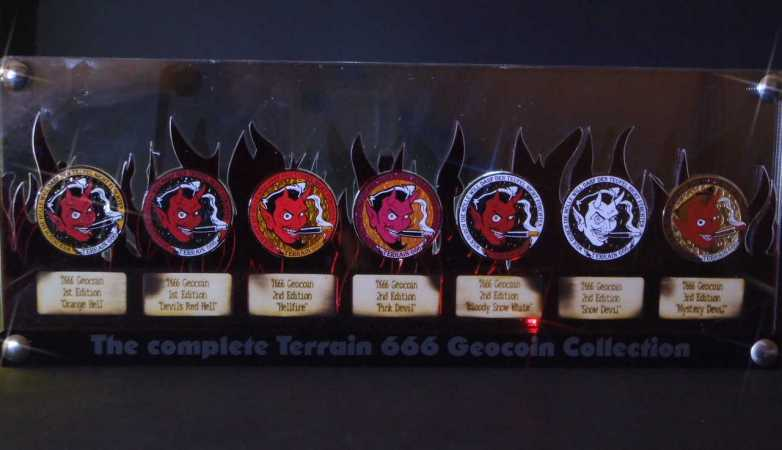 "Special GeoCoinCollector - ""T666 complete Edition"""