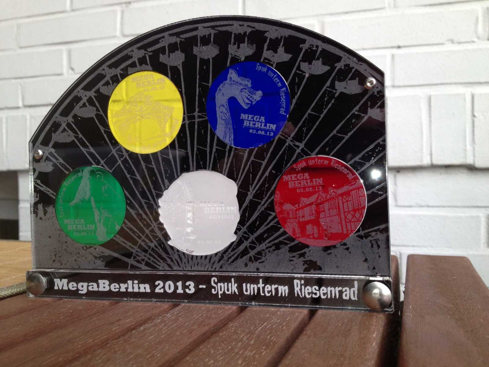 GeoCoinCollector - MegaBerlin 2013 - 5er Version
