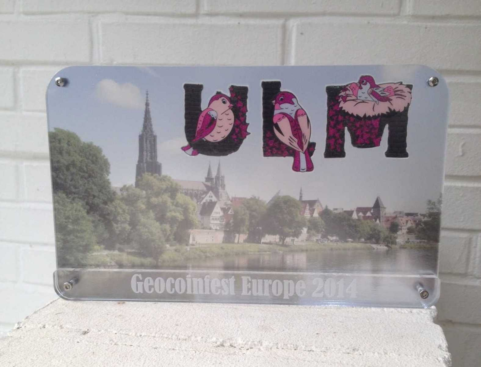 "GeoCoinCollector - European Geocoinfest 2014 Ulm ""Day Edition"""