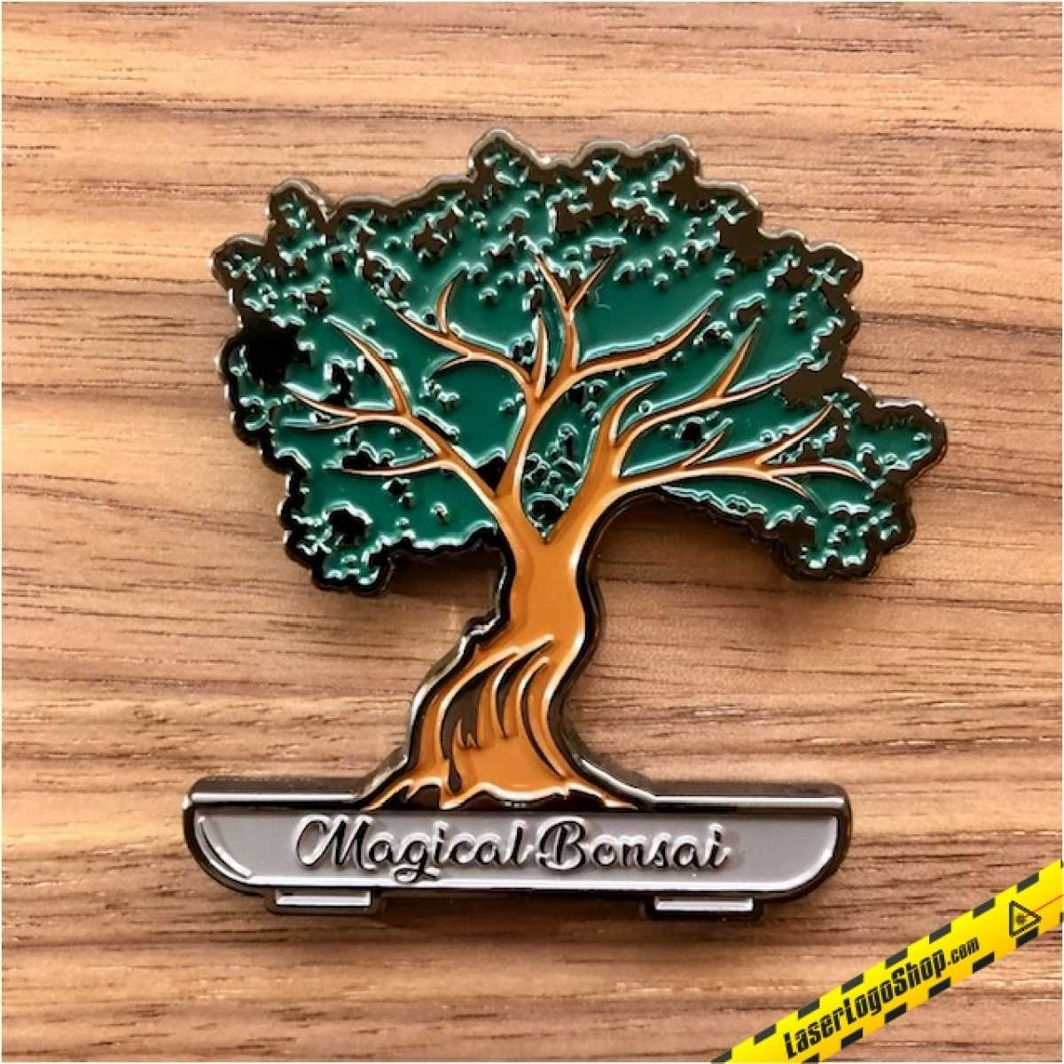 """Magical Bonsai"" Color Changing Geocoin - Regular Edition - Auflage 150 Stück"