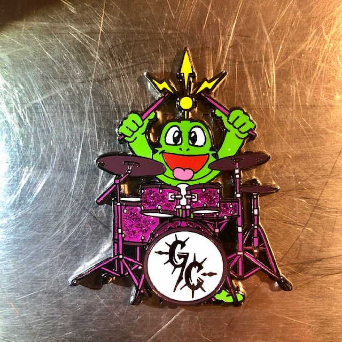 """Signal Rock Band Geocoin"" - Edition ""LE 75 Glam Cannibals"" - Drummer einzeln"
