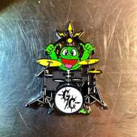 """Signal Rock Band Geocoin"" - Edition ""RE 100 Green Carnage"" - Drummer einzeln"