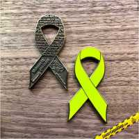 """Green Ribbon Charity Geocoin"" - Limited Edition - Auflage 50 Stück"