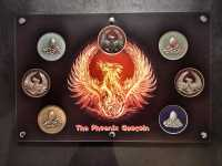 "Geocoin Tableau - ""The Phoenix Geocoin"" Aktionspreis"